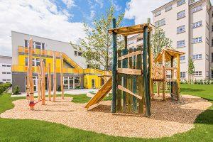 Salamander-Areal, Kornwestheim, Neubau Kindertagesstätte