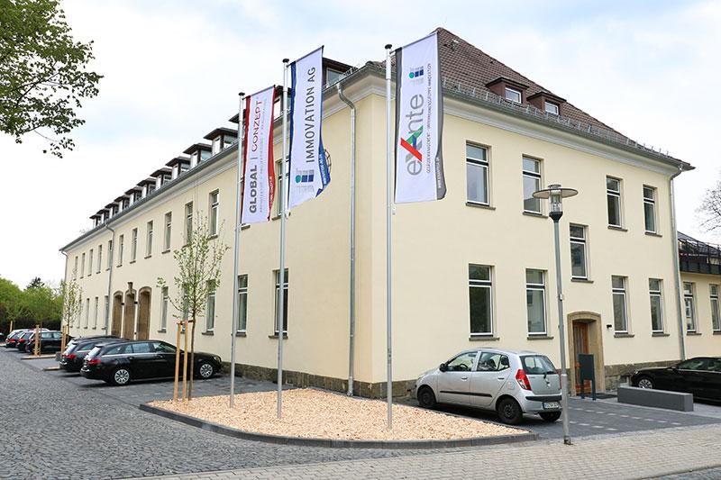 IMMOVATION-Unternehmensgruppe, Firmengebäude in Kassel
