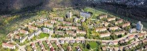 Projekt Zanger Berg, Heidenheim, Luftbild