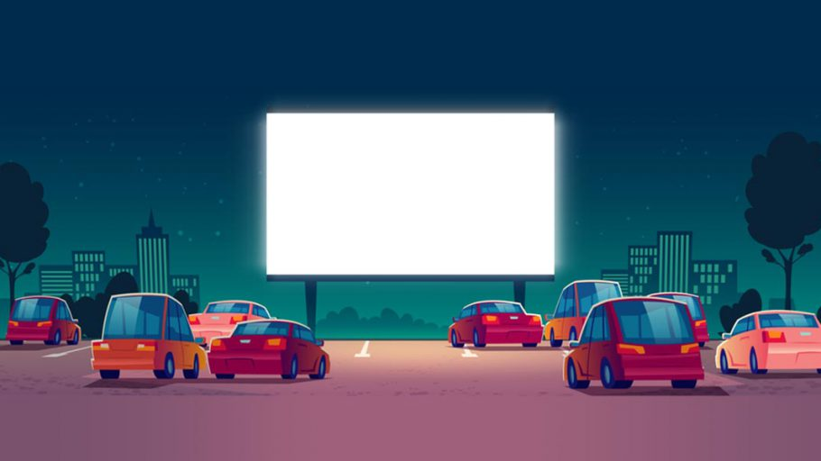 "Illustration ""Kornwestheimer Autokino"""