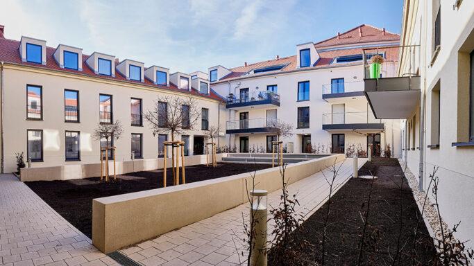Höfe am Kaffeeberg, Ludwigsburg, Neubau Wohngebäude