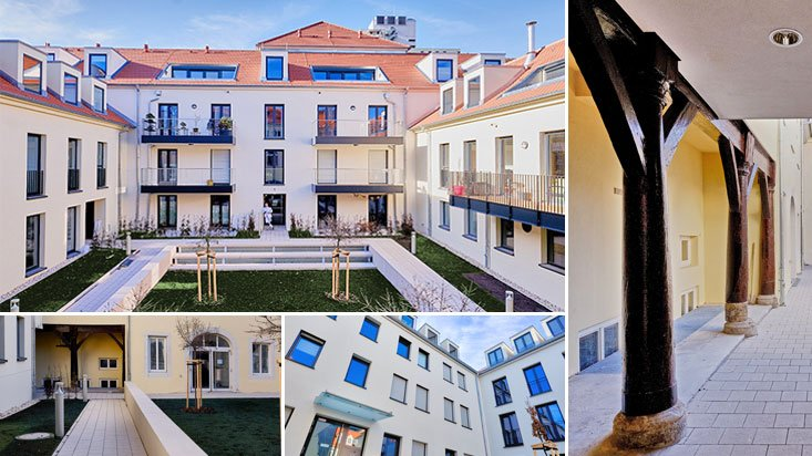 Höfe am Kaffeeberg, Ludwigsburg, Neubau Wohngebäude Collage