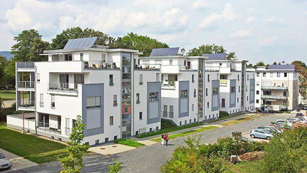 Konversion Kaserne, Kassel, Neubau Stadtvillen