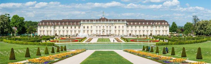 Residenzschloss Ludwigsburg, Garten Blühendes Barock