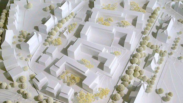 Park Schönfeld Carree, Kassel, Modell Wuttke & Ringhof Architekten