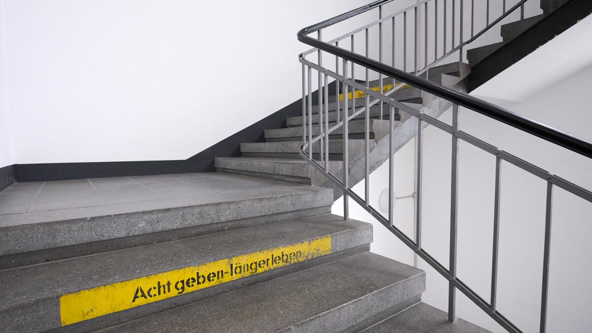 Treppenhaus Salamander-Areal