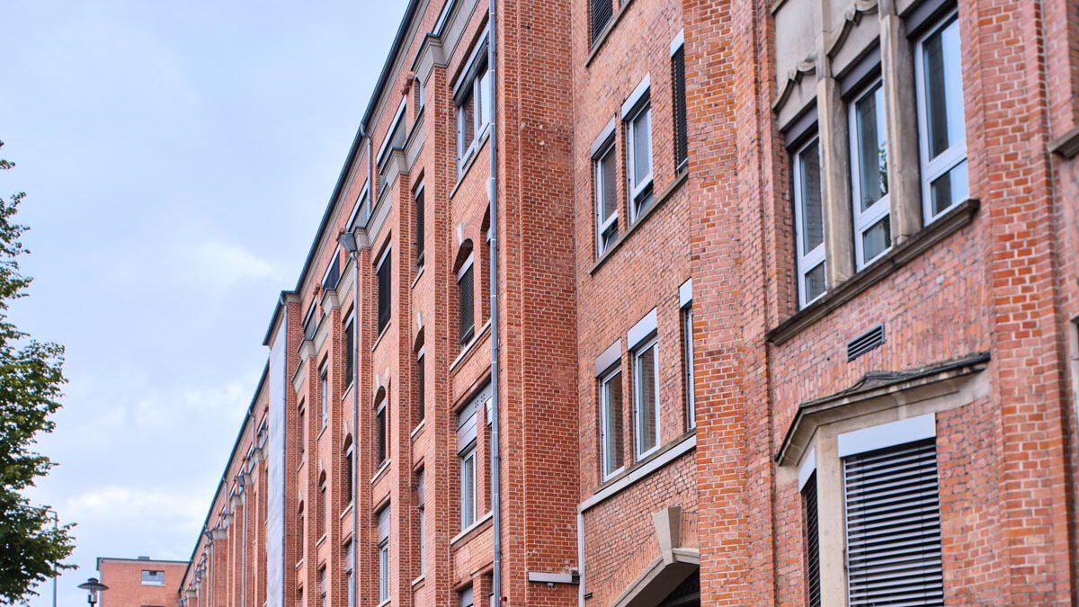 Fassade Hauptgebäude Salamander-Areal