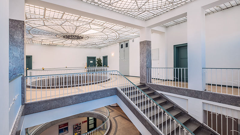 Gewerbeimmobilie, Kornwestheim, Salamander-Areal, Bau 1, Treppenhaus
